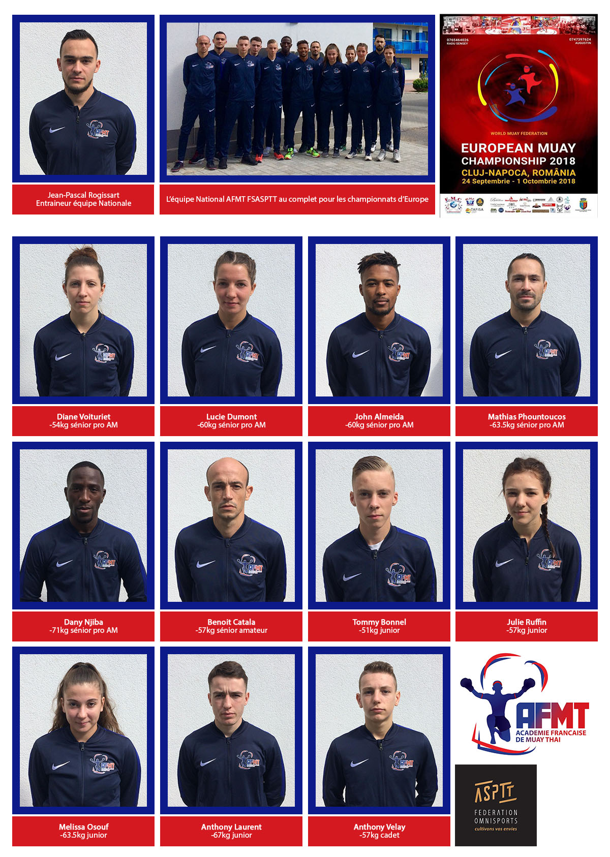 equipe nationale 2018